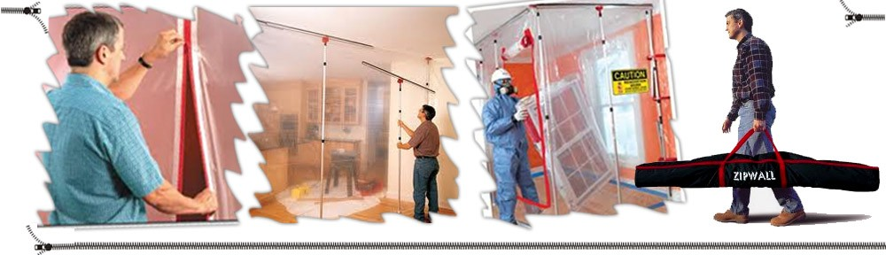 Zipwalls Zipwall Dust Barrier Systems Construction